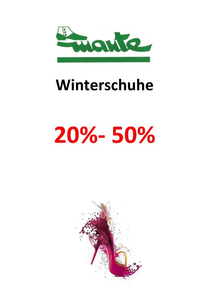 Winterschuhe 20-50%