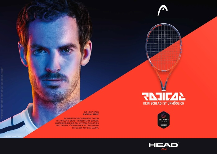 Head Graphene Touch Radical