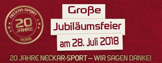 20 Jahre Neckar-Sport