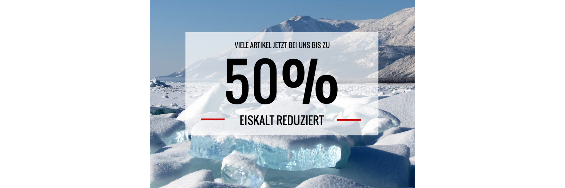 Eiskalt Reduziert!