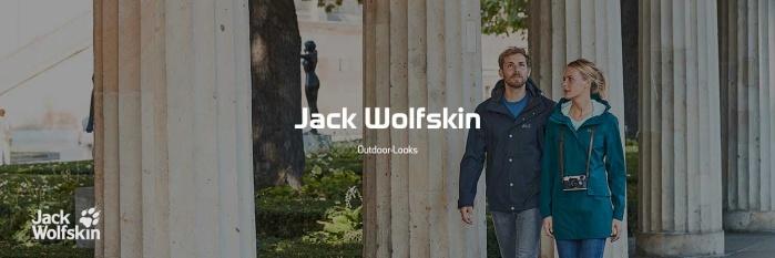 Jack Wolfskin Outdoor-Look