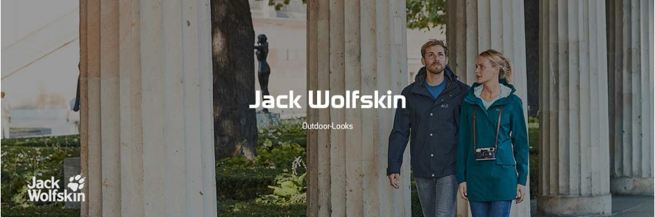 Jack Wolfskin Outdoor-Look