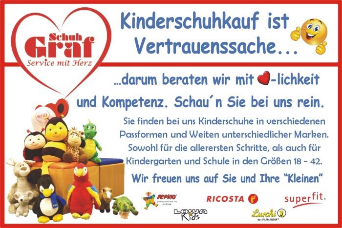 Kinderschuhkauf ist Vertrauenssache...