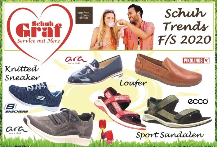 Schuh Trends F/S 2020