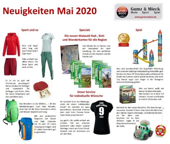 Neuigkeiten 05 2020