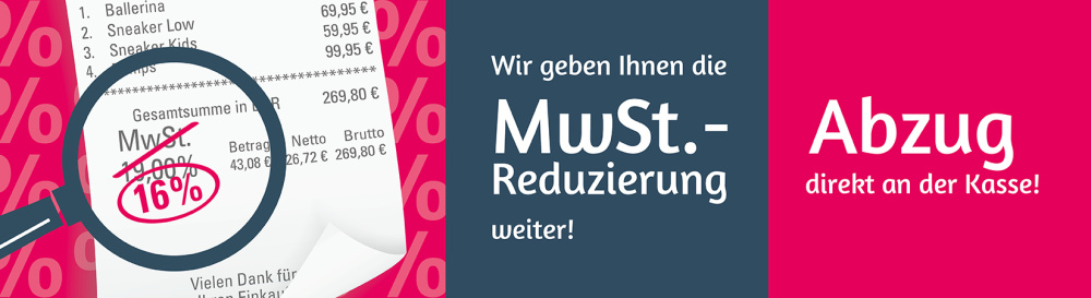 MwSt.-Reduzierung