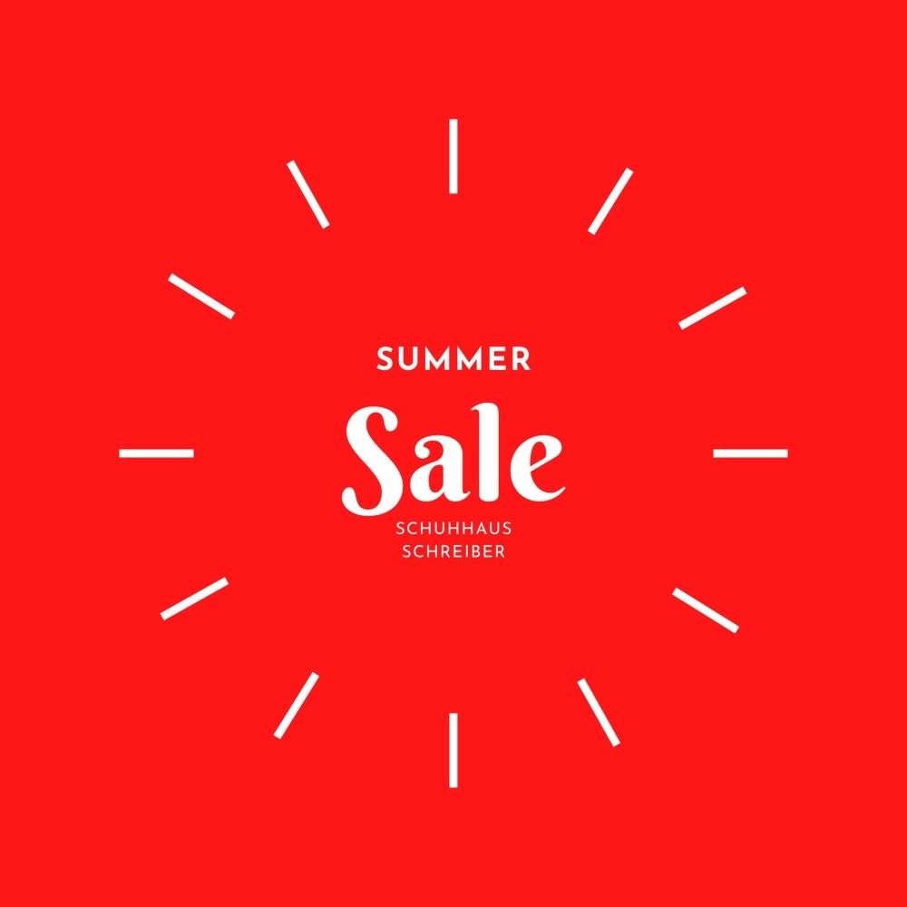 Banner Sale Summer Schreiber