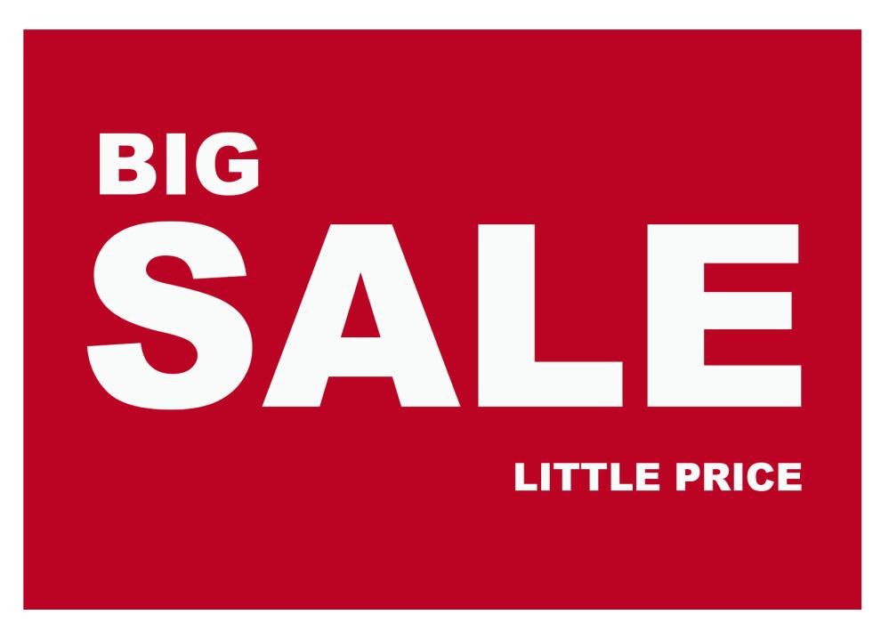 Sale klein