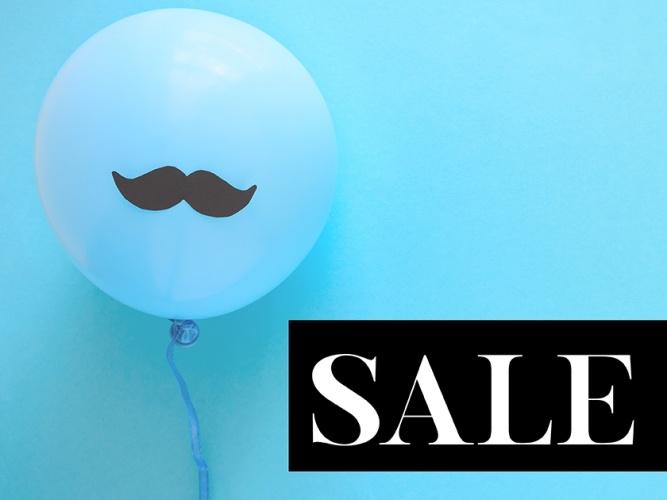 Aktionen/Anlässe - Sale blaue Luftballons