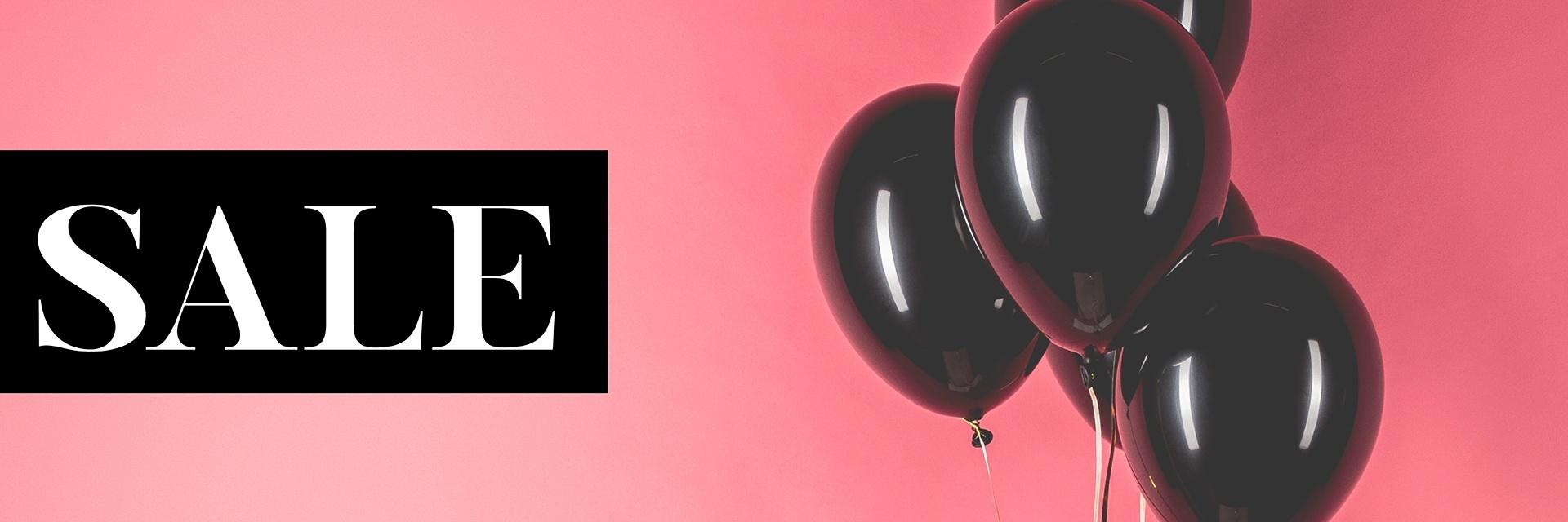 Aktionen/Anlässe - Sale rosa Luftballons