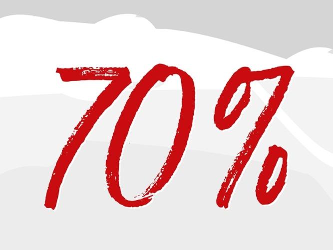 Sale 70 Prozent grau