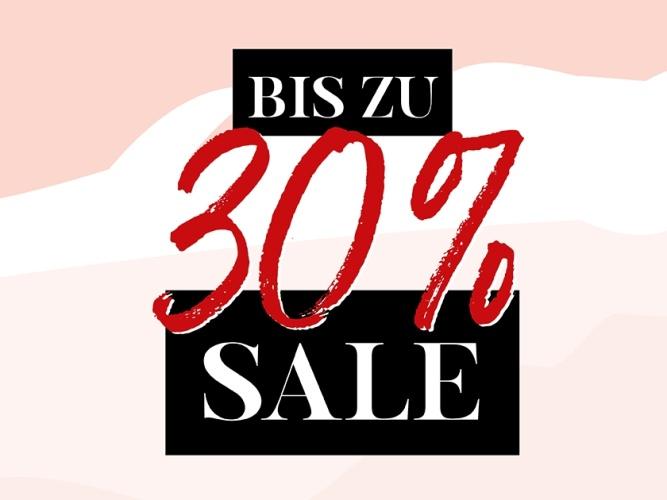 Sale bis zu 30_Prozent_rot