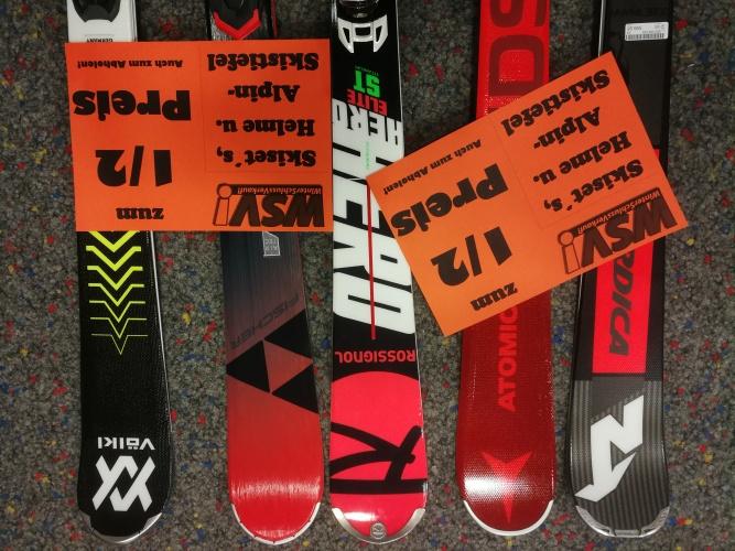 Ski halber preis