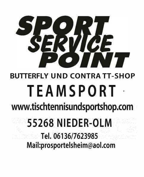 Unser Neuer TT- und Sport Onlineshop