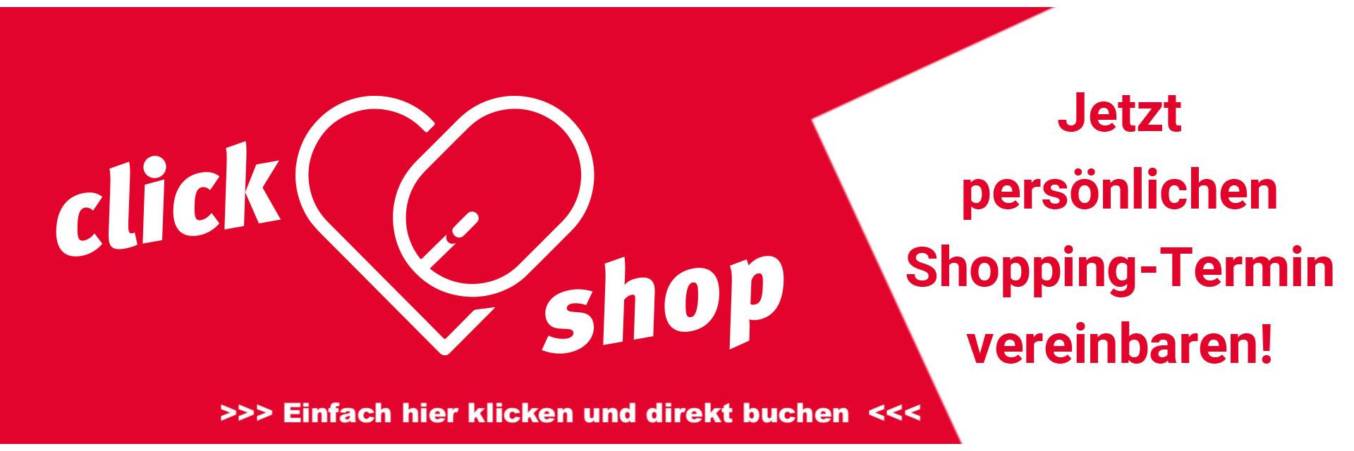 click&shop Banner