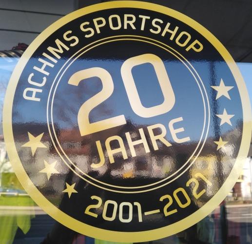 20 Jahre Achims Sportshop