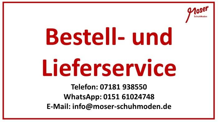 Bestell- und Lieferservice 18.04.2021