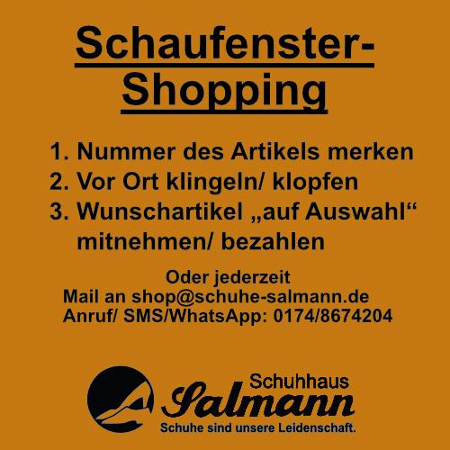 Schaufenster-Shopping
