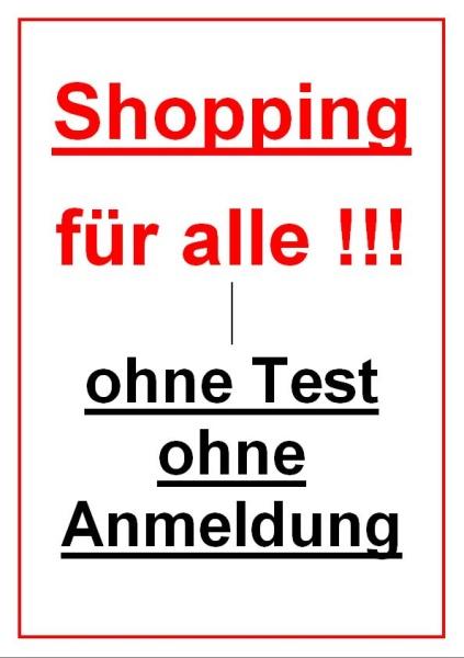Shopping für alle