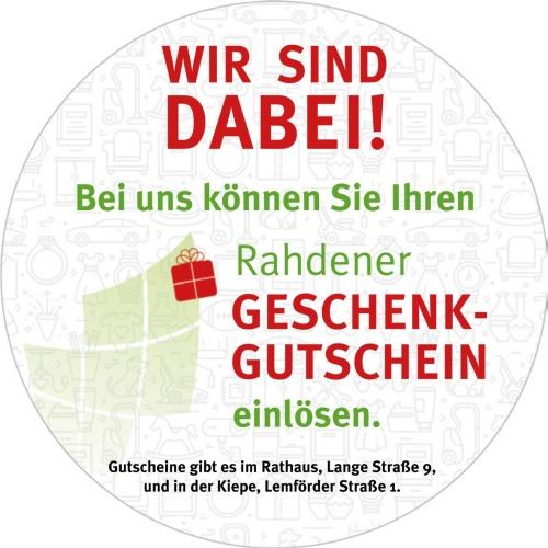 Rahdener Gutschein_Aufkleber