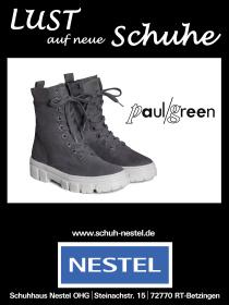 Anzeige Paul Green