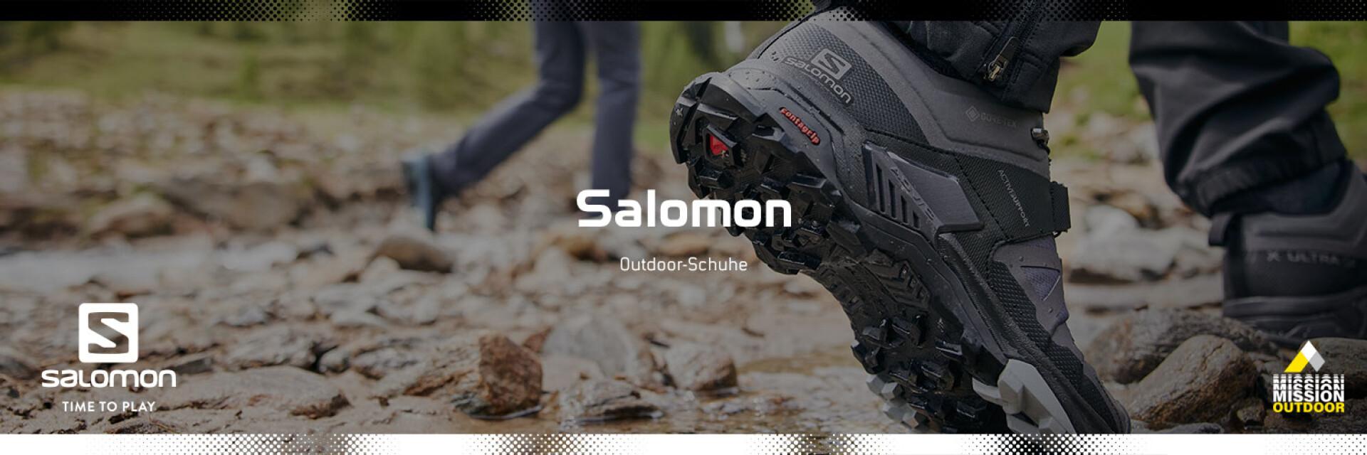 Salomon in der MISSION OUTDOOR