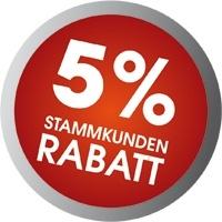 5% Stammkundenrabatt