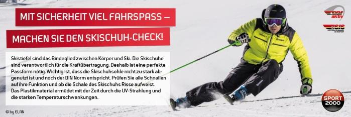Skischuhcheck