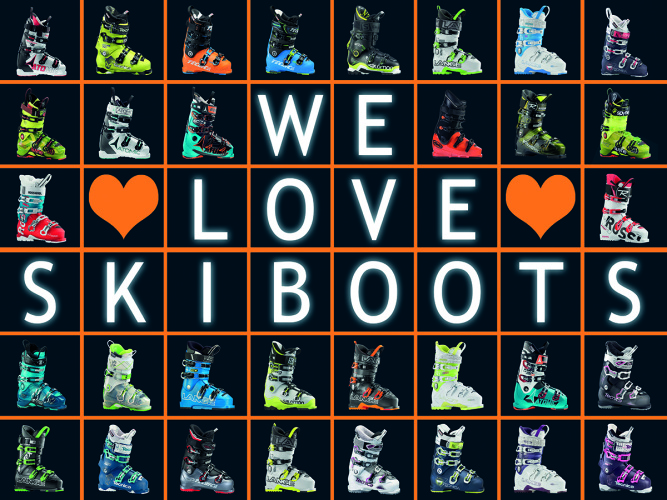 We love Skiboots