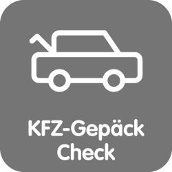 KFZ Gepäck-Check