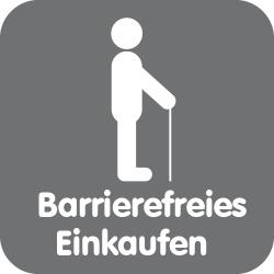 Barrierefreies Einkaufen