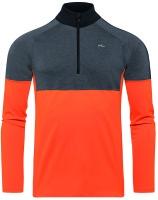 KjusMen Race Half Zip orange/grey men