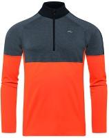 Kjus Men Race Half Zip orange/grey men