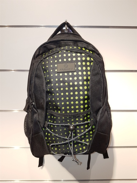 FrankyFranky RS 3 Rucksack  lime green dots