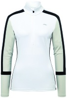 Kjus Women Race Halfzip white/pebble rock