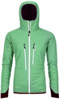 OrtovoxPiz Boe Jacket W green isar