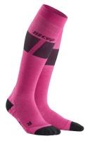CEPSki Ultralight Socks women pink/dark grey