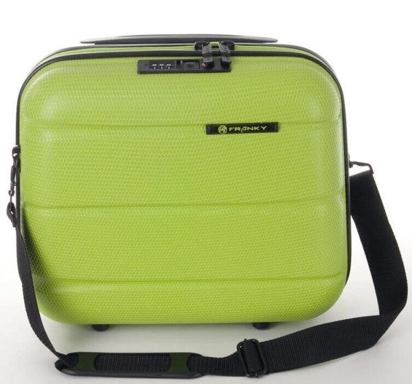 Franky Beautycase ABS13 lime green