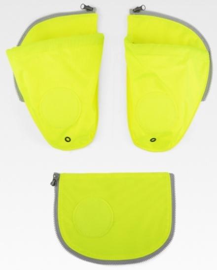 ErgobagSicherheitsset & Seitentaschen gelb