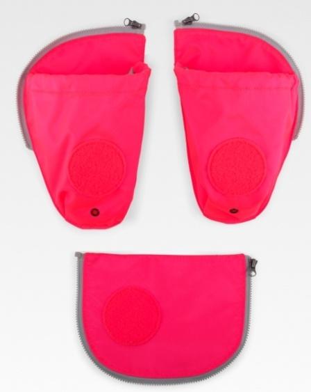 ErgobagSicherheitsset & Seitentaschen pink