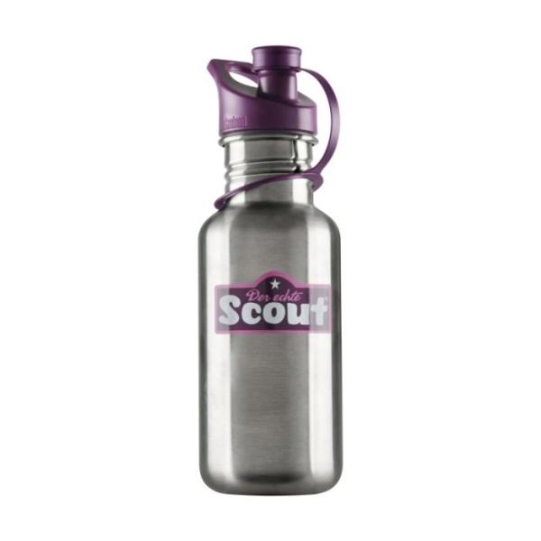 ScoutEdelstahl-Trinkflasche violett