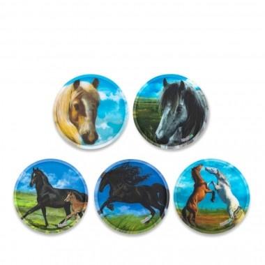 ErgobagKlettie Set 5 teilig Pferde