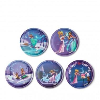 ErgobagKlettie Set 5 teilig Prinzessin auf dem Eis