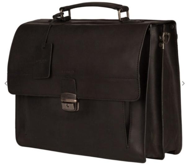 BurkelyFundamentals Vintage Briefcase black