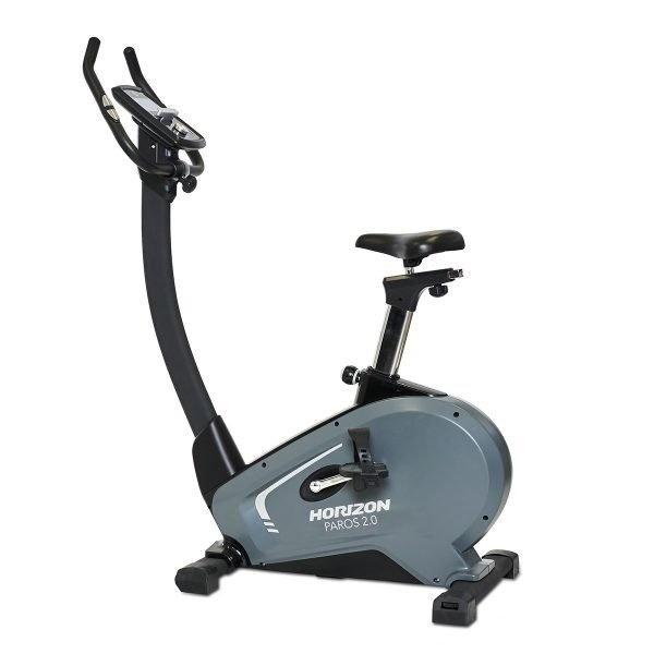 HorizonParos 2.0, Fahrradtrainer-Ergometer, Anthrazit/Schwarz