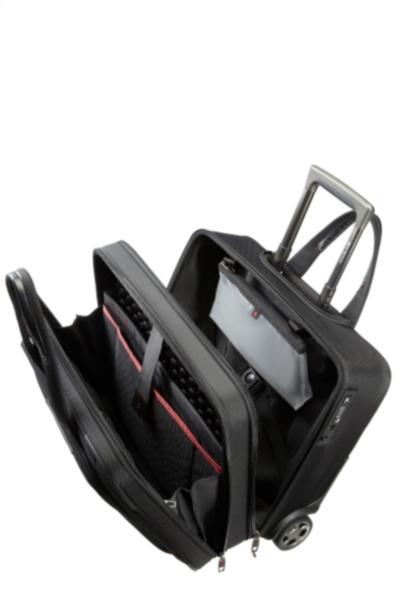 SamsonitePro DLX 4 Rolling Tote 17,3 black