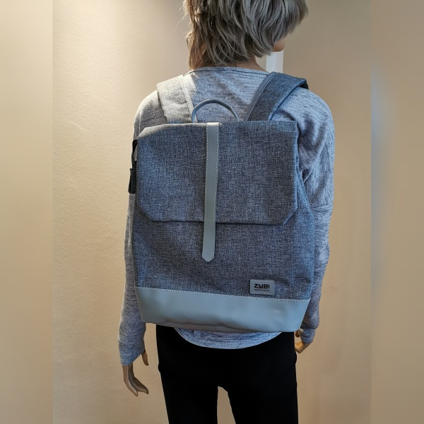 ZweiRucksack in grau von Zwei