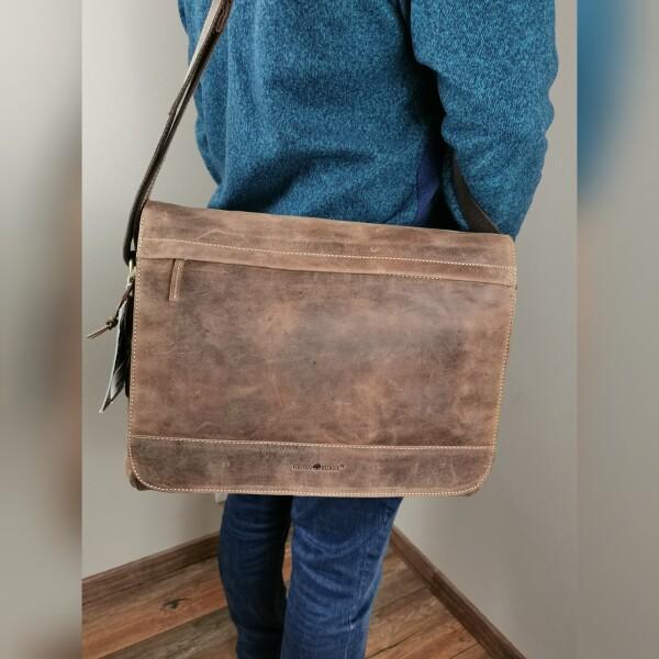 GreenburryAktentasche mit Überschlag - einfach