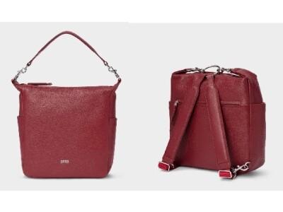 Nola 10 darkred Handtasche/Rucksack