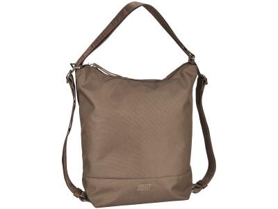 Handtasche/Rucksack Bergen Taupe